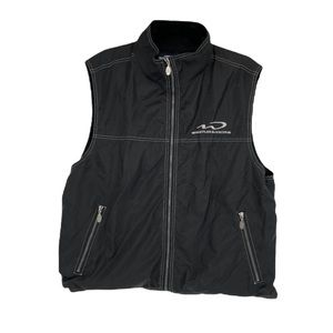 Whistler Blackomb ski resort water resistant black vest